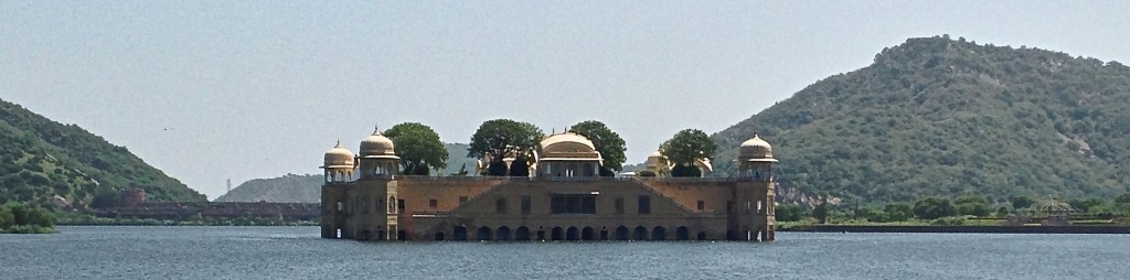 palace in water