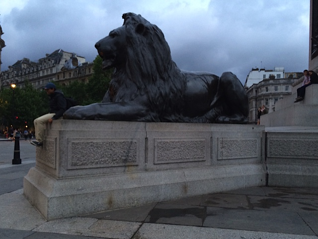 Lion of Trafalgar Square