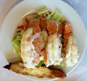 Langoustine at Gerdi Guesthouse