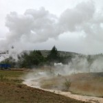 Steam in Hveragerdi