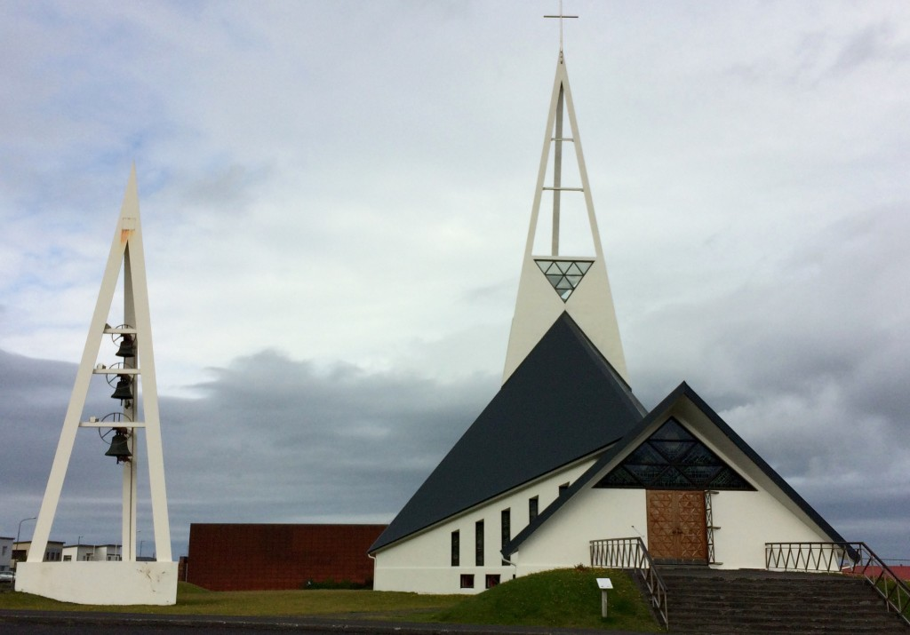 Snaefellsnes Peninsula church