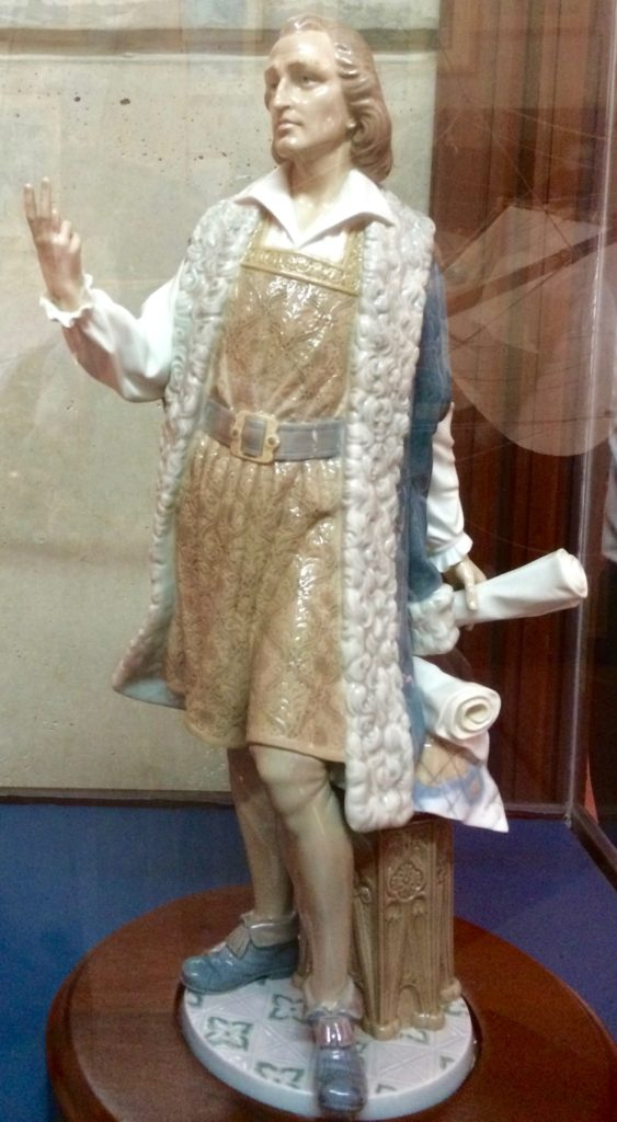 Christopher Columbus figure by Lladro