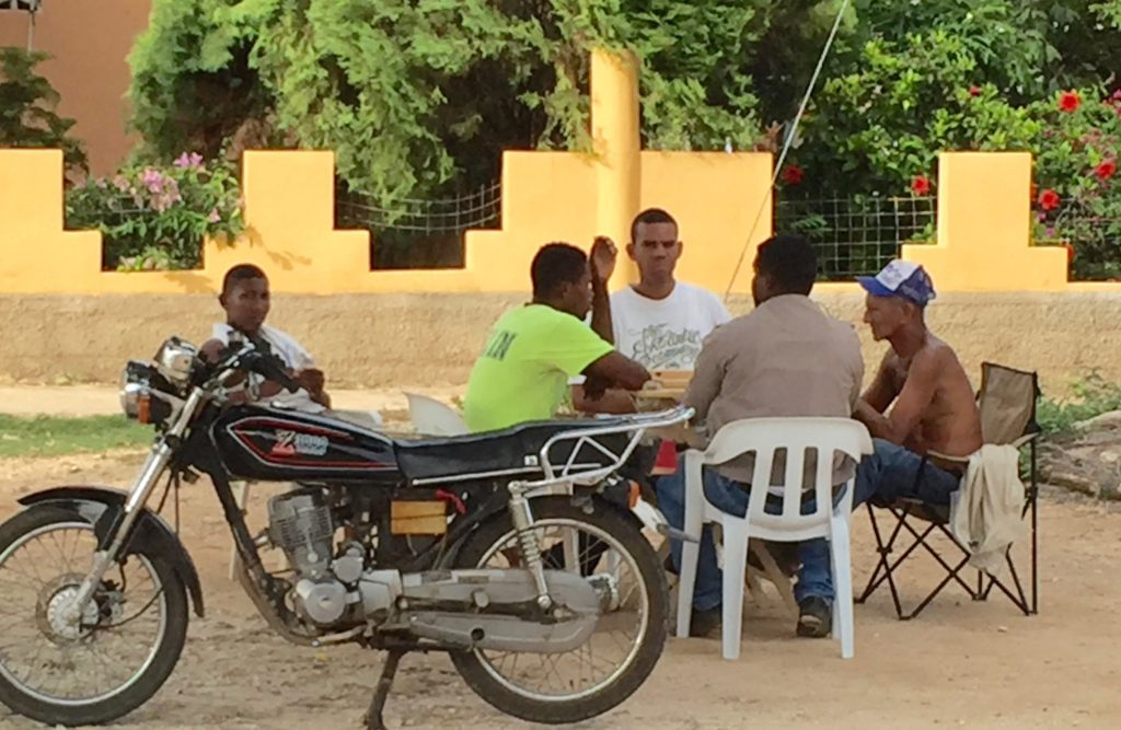 Dominos near Barahona