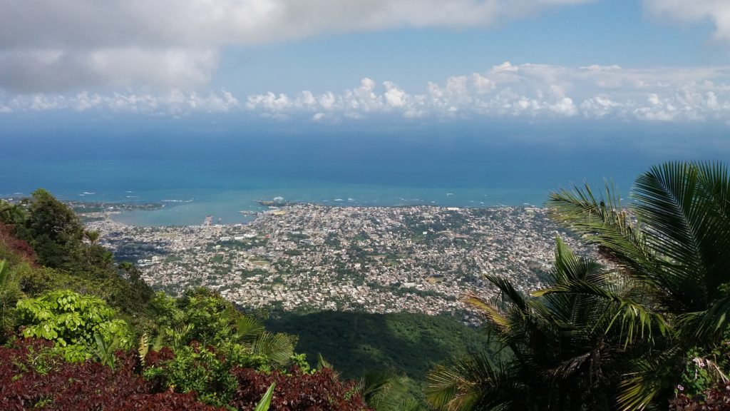 Puerto Plata from Mount Isabel de Torres