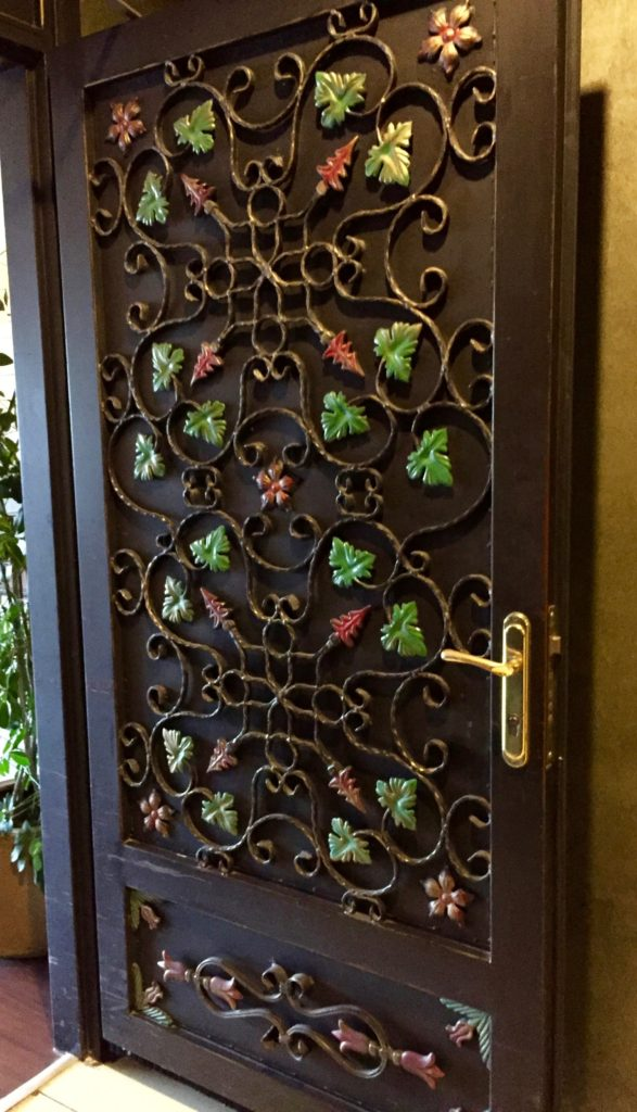 Beautiful door int the Legacy Ottoman Hotel