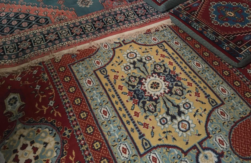 Assortment of rugs
