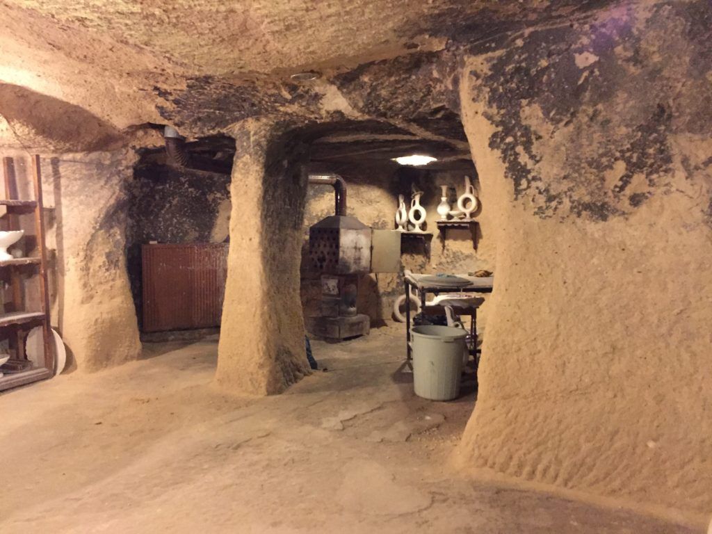 Cave rooms