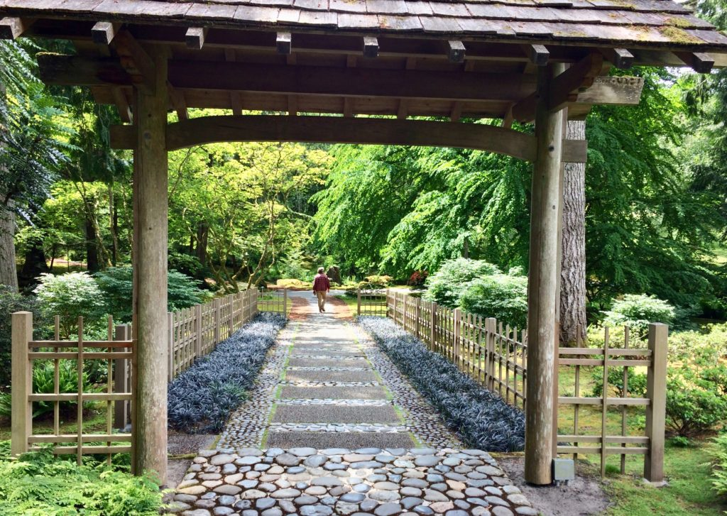 Bloedel Reserve - gate to Japanese gardens
