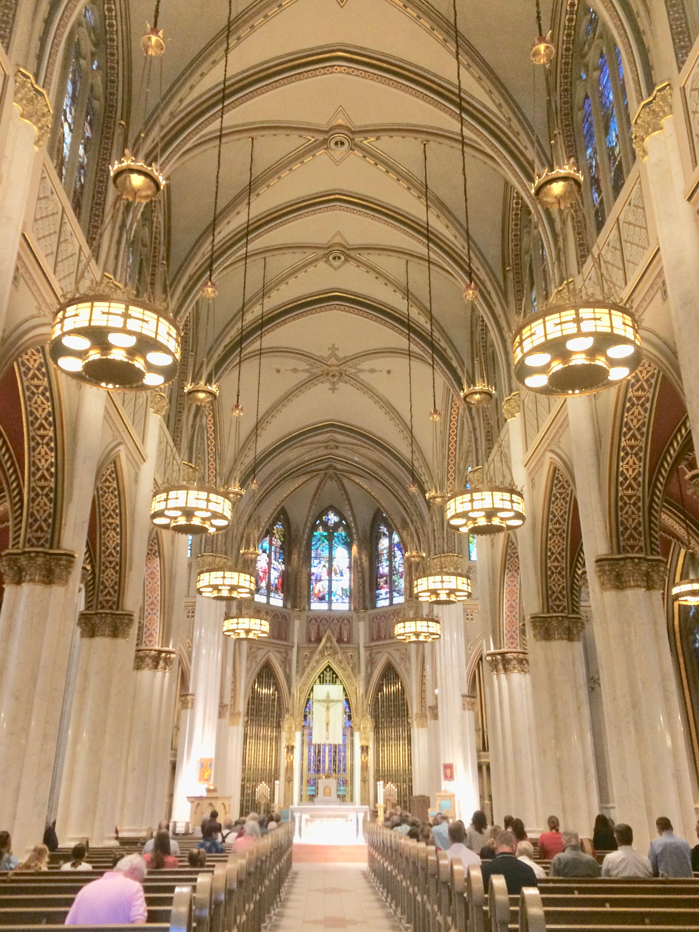 Prelude begins at Cathedral of Saint Helena